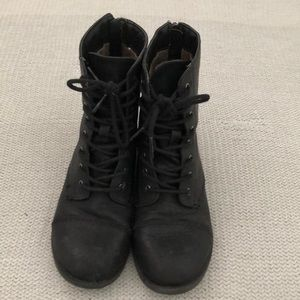Other - Black Combat Boots